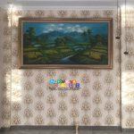 Pemasangan Wallpaper Di Jl. Grogol Sari, Juwangen, Purwomartani, Kalasan, Sleman, Yogyakarta
