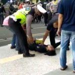Oknum Polisi Banting Mahasiswa Saat Demo Hingga Tak Sadarkan Diri